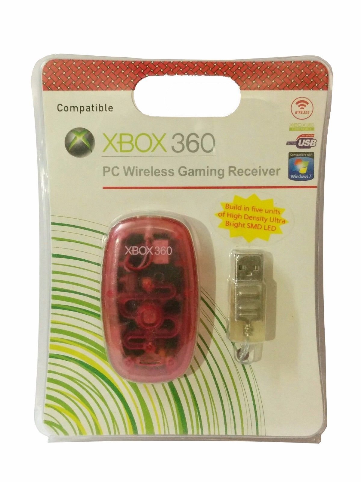 New World Windows PC Wireless USB Gaming Receiver for Xbox 360 Controller Windows product image