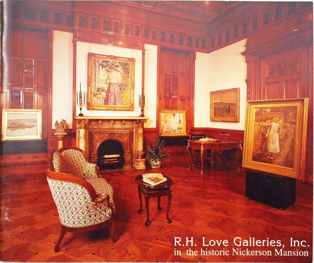R.H. Love Galleries Selections: American Genre Through Regionalism: Richard  H. Love, Michael Preston Worley: 9780940114548: Amazon.com: Books
