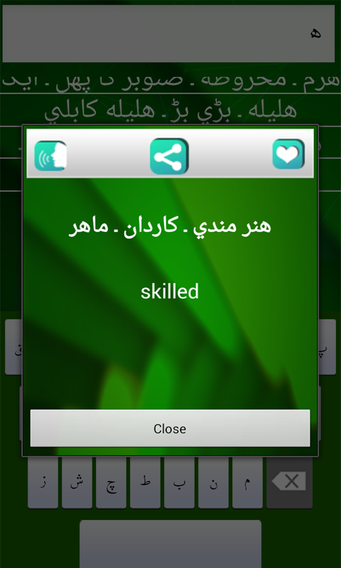 Amazon com: The Urdu To English Dictionary: Appstore for Android