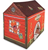 """Pacific Play Tents Kids Dinosaur Train Station House Tent Playhouse for Indoor / Outdoor Fun - 50"""" x 40"""" x 50"""""""
