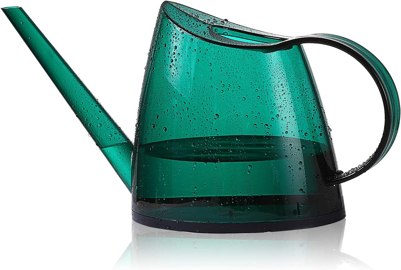 Watering Can, Transparent Long Spout Watering Kettle Nordic Style Garden Watering Pot for Indoor and Outdoor Watering Plants and Potted Flowers (1.4L, Green) : Garden & Outdoor