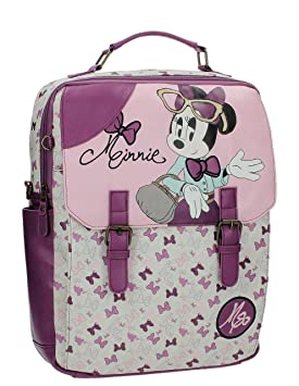 Disney Minnie Glam Mochila Escolar, 10.47 litros, Color Rosa: Amazon.es: Equipaje