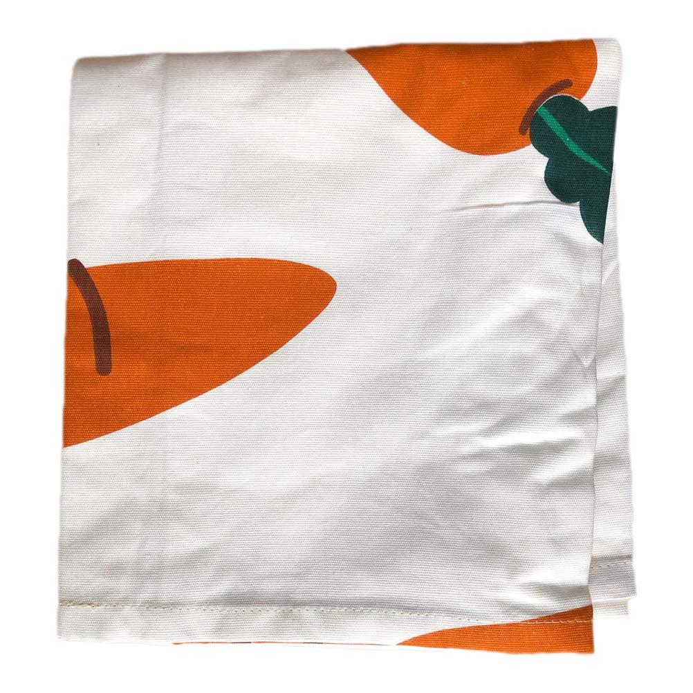 Vosarea Custodia Protettiva Antipolvere per Frigorifero Lavatrice Ricarica Universale con Custodia Lavatrice asciugatrice 55/x 130/cm Motivo Carota