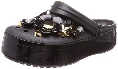 ce31eab585 Crocs Crocband Platform Metallic Blooms Clog