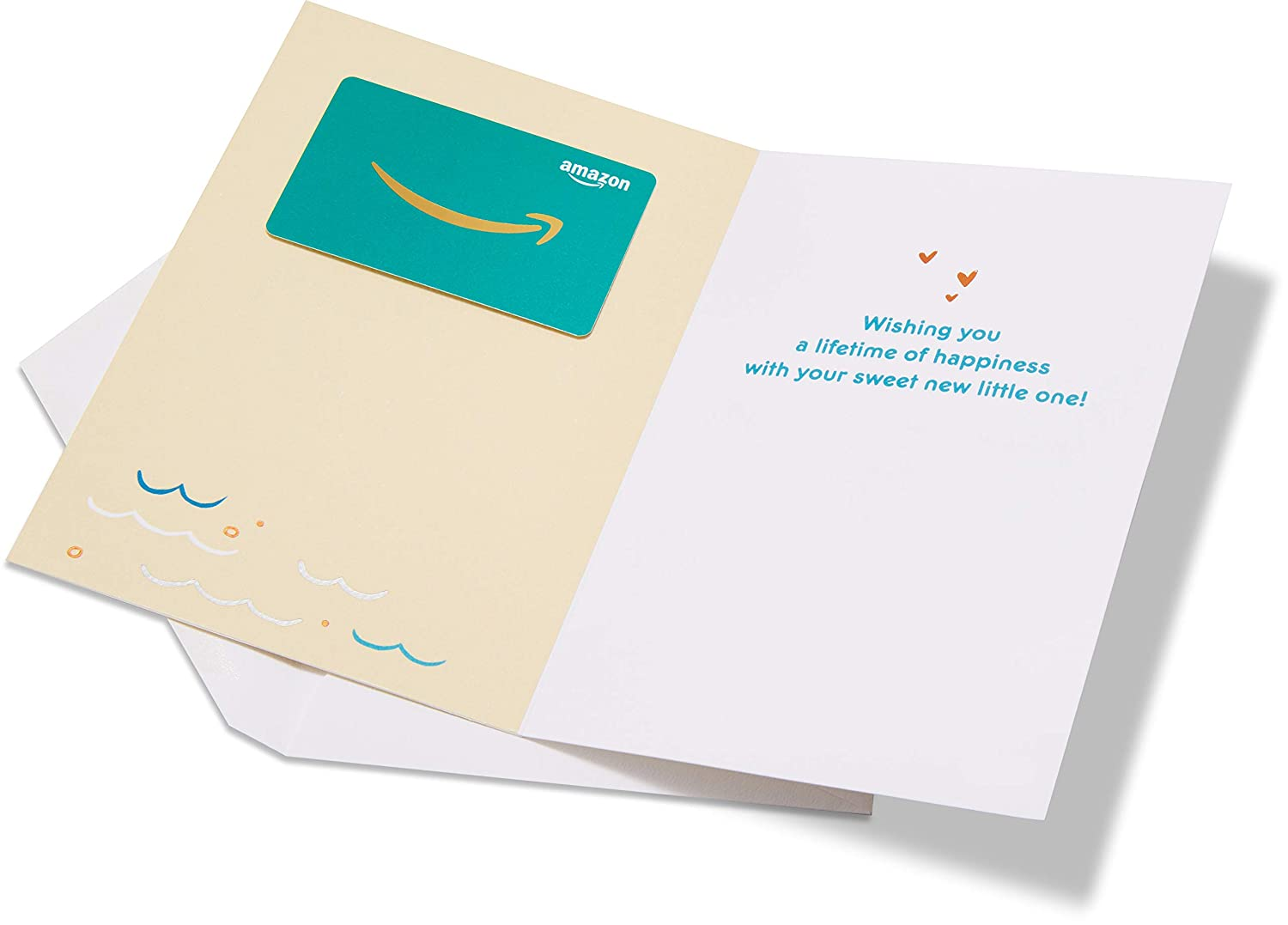 Amazon.com Gift Card in a Premium Greeting Card by American Greetings