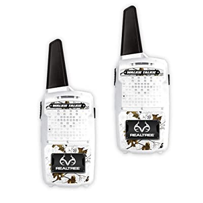 NKOK Realtree 1000' Range Walkie-Talkies (Snow), 25045: Toys & Games