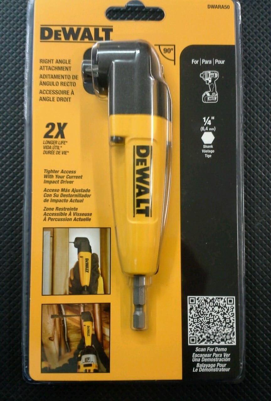 DWARA120 // DWARA050 Khanka Hard Case for DEWALT Right Angle Attachment//Drill Adaptor