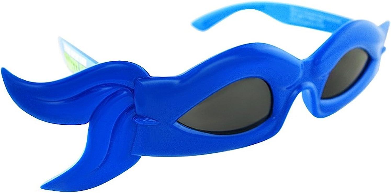Sun-Staches TMNT Leonardo BlueTurtle Face Mask Sunglasses-Perfect for a Costume!