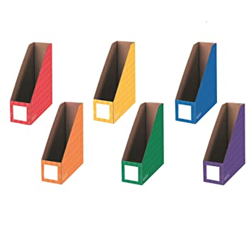 Amazon.com : Bankers Box Classroom Magazine File Organizers, 4 ...