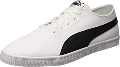 PUMA Urban SL, Baskets Mixte Adulte, Blanc White Black 02