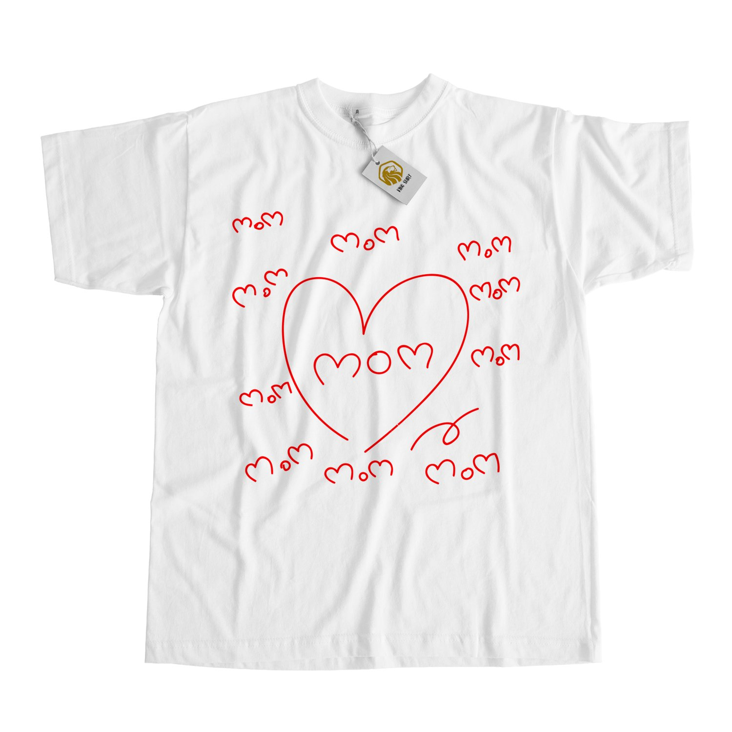 I Love My Mom Shirt Mothers Day Tshirt Mother Day Gift Best Mothers Shirt