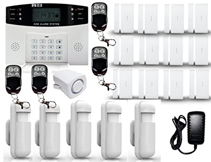 D1D9 Alarm System Wireless Anti Burglar DIY GSM for House Security