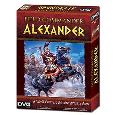Dan Verssen Games -2 Field Commander - Alexander: Toys & Games