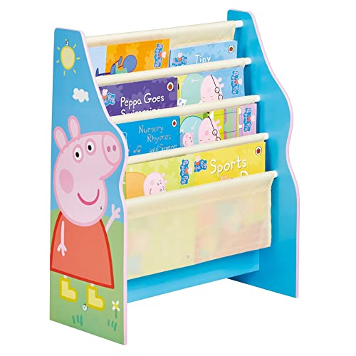 Peppa Pig – Kinder Bücherregale mit Cartoon Motiven