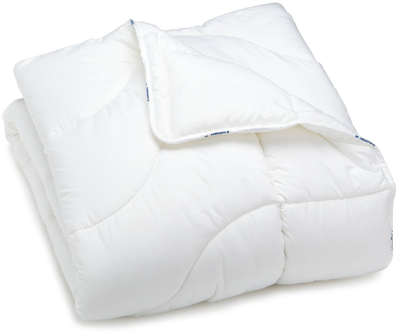 135x200 cm 4-Jahreszeiten Badenia 03 649 730 140 Bettcomfort Steppbett weiß weiß Irisette Micro Thermo