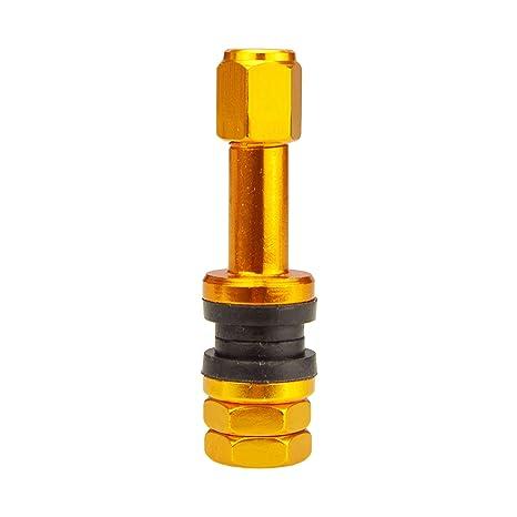 Carbonado Válvula de Aluminio X2 Gold Edition para Coche, 11,3 mm, válvula