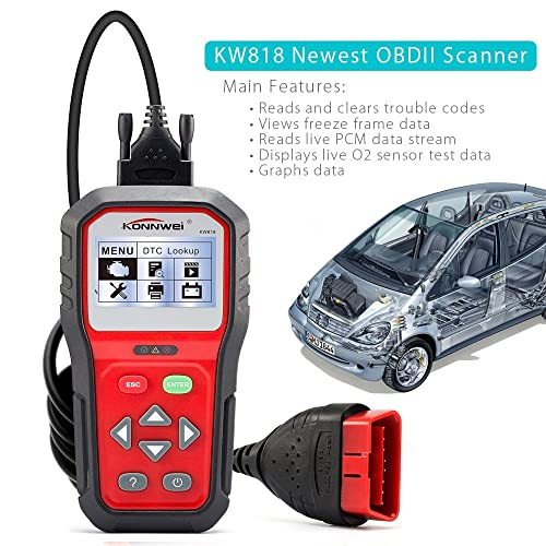 With KONNWEI KW818 diagnostic tool you will be able to establish your battery in under a minute.