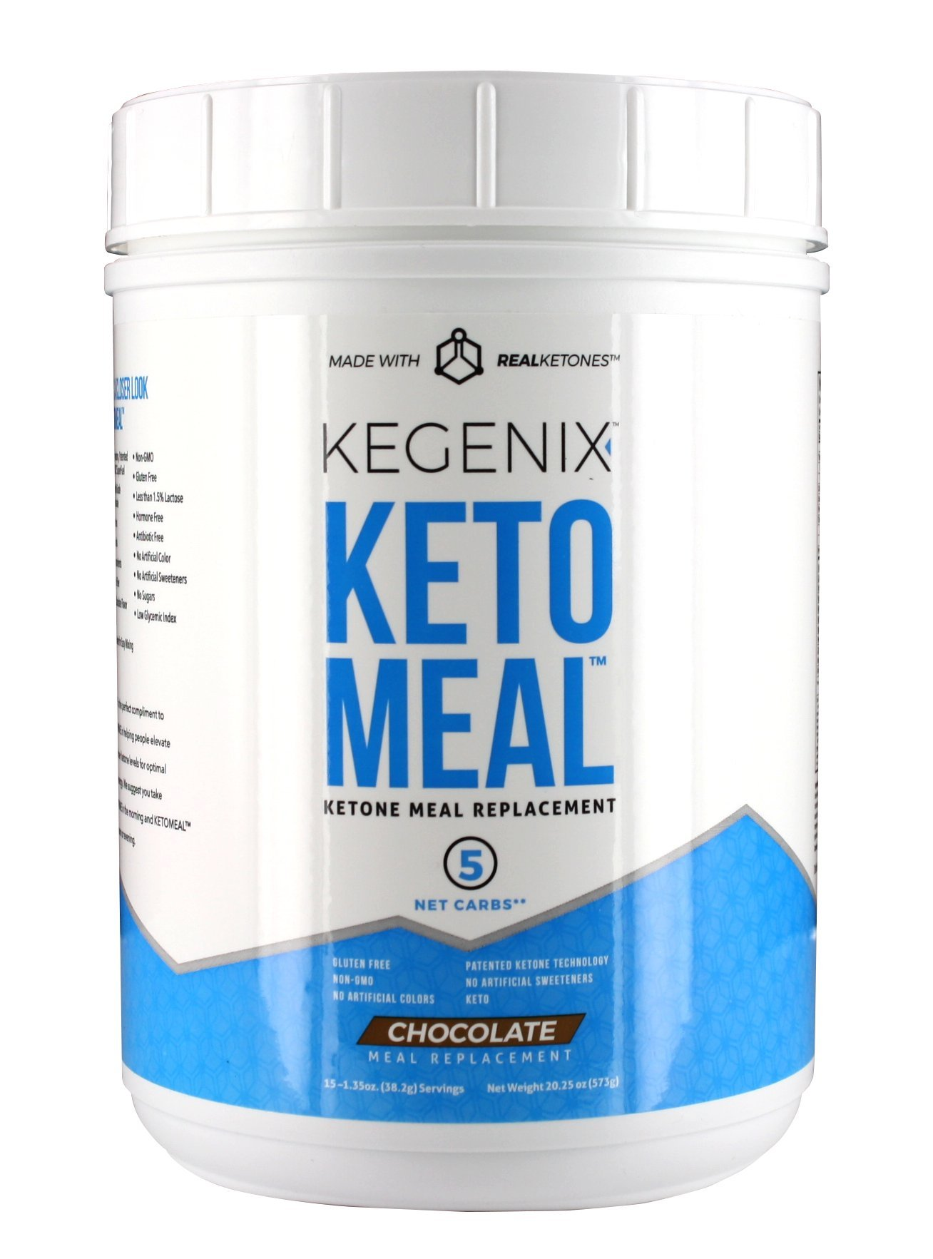 Keto meal replacement with BHB, MCT, and Protein. Energetic weight loss Chocolate