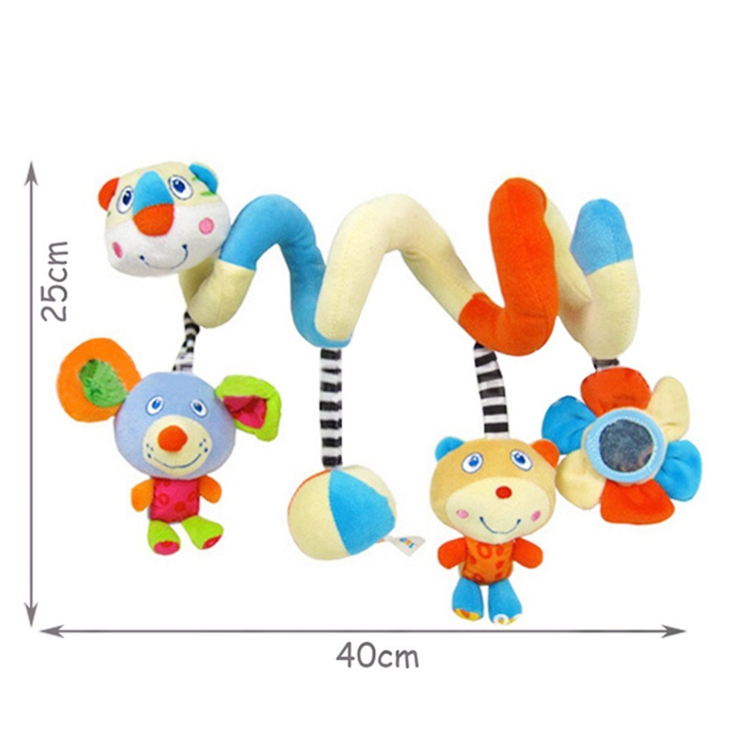 Baby Toy Car Seat Blue//Baby Pram Toy//Girl//Boy//Blue Pram Toy//Boy//Girl//Double Pushchair Toy//Child Toy Car Seat labebe ★Hot Deals Hanging Toy Cute Doll Pram Toy with Blue Astronaut for Unisex Baby