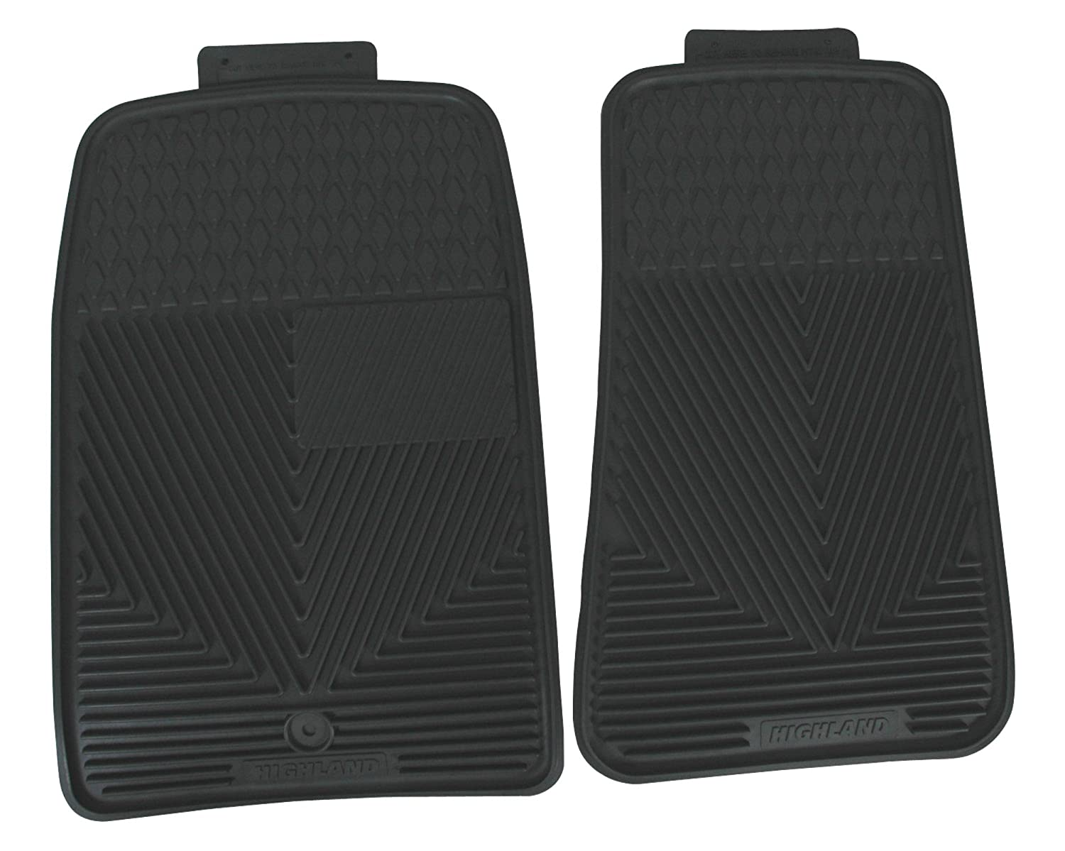 Highland 4504800 All-Weather Gray Front Seat Floor Mat