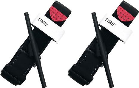 2 pack, black rapid application tourniquet system R.A.T.S