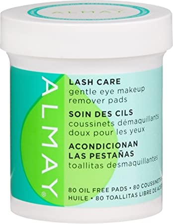 Almay Lash Care Gentle Eye Makeup Remover Pads 80 ct (Pack of 5)
