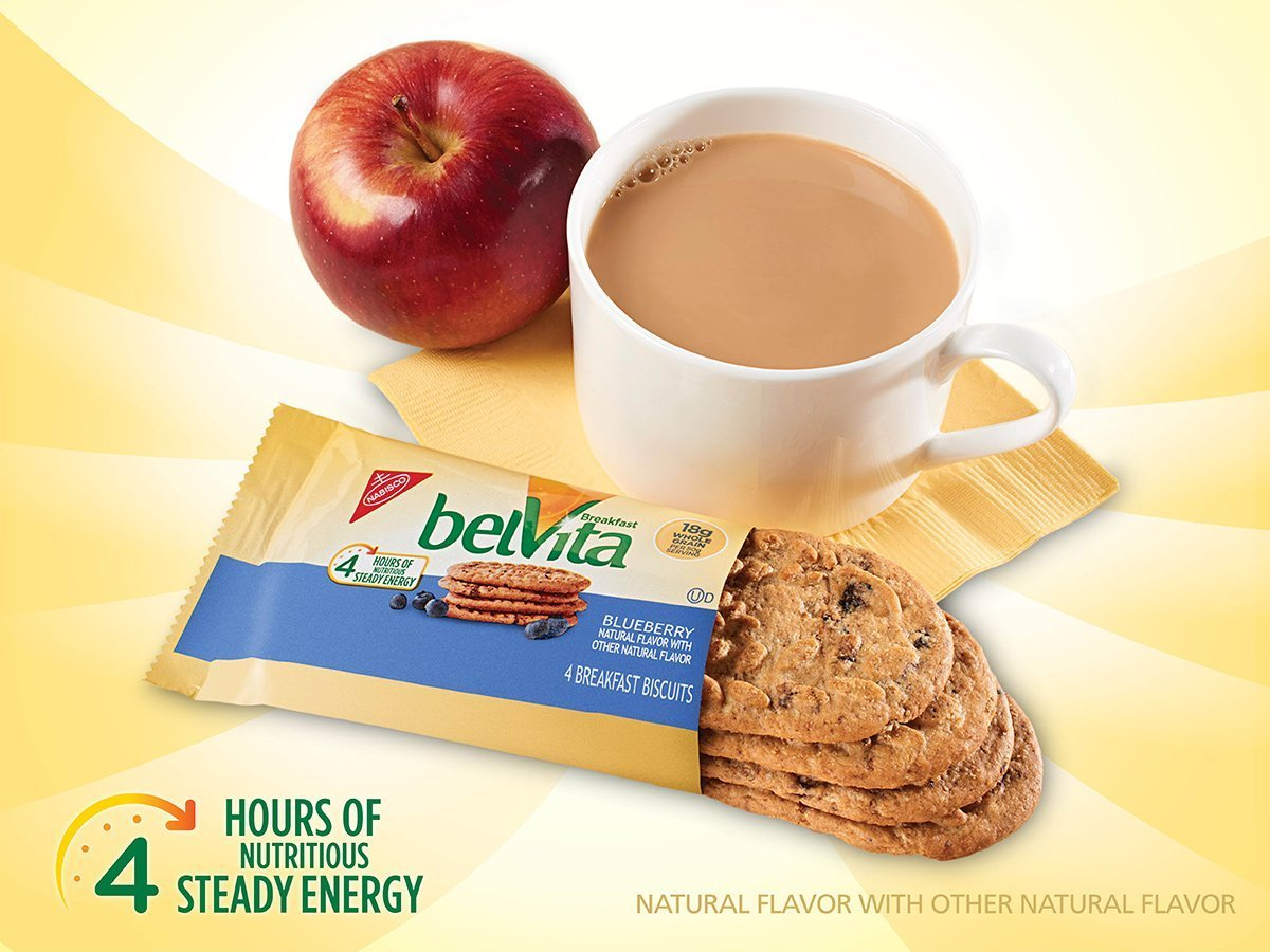 belVita Breakfast Biscuits Variety Pack, 5 Count Box, 8.8 Ounce (Pack of 6) by Belvita (Image #4)