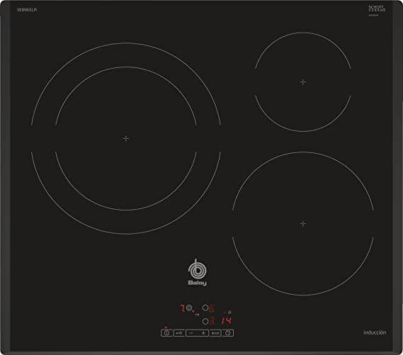 Balay 3EB965LR hobs Negro Integrado Con - Placa (Negro, Integrado ...