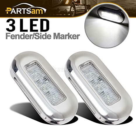 Marine Boat RV Interior Exterior White Courtesy Cabin Walkway Stair LED Light