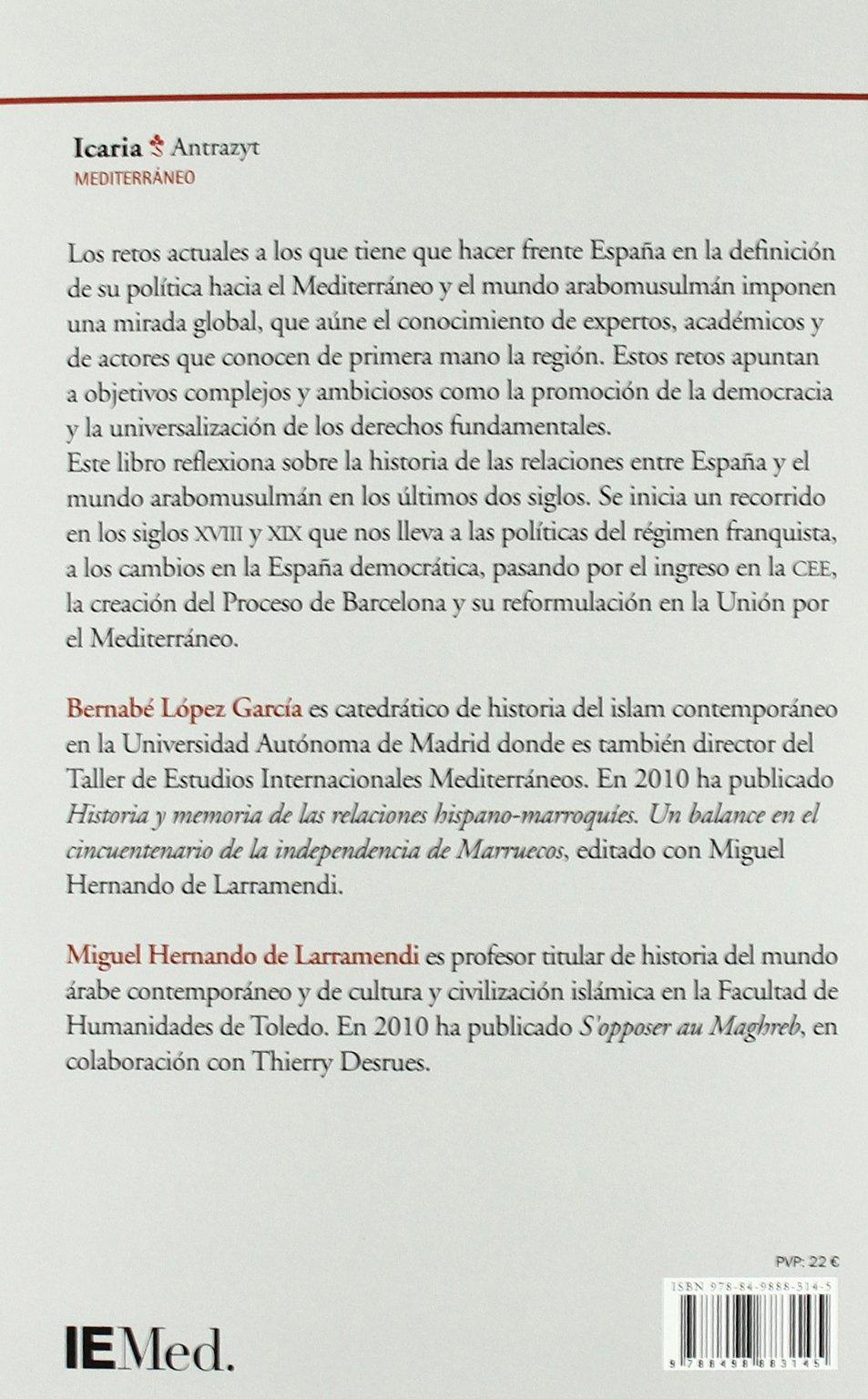 Amazon.com: España, el mediterraneo y el mundo arabom ...
