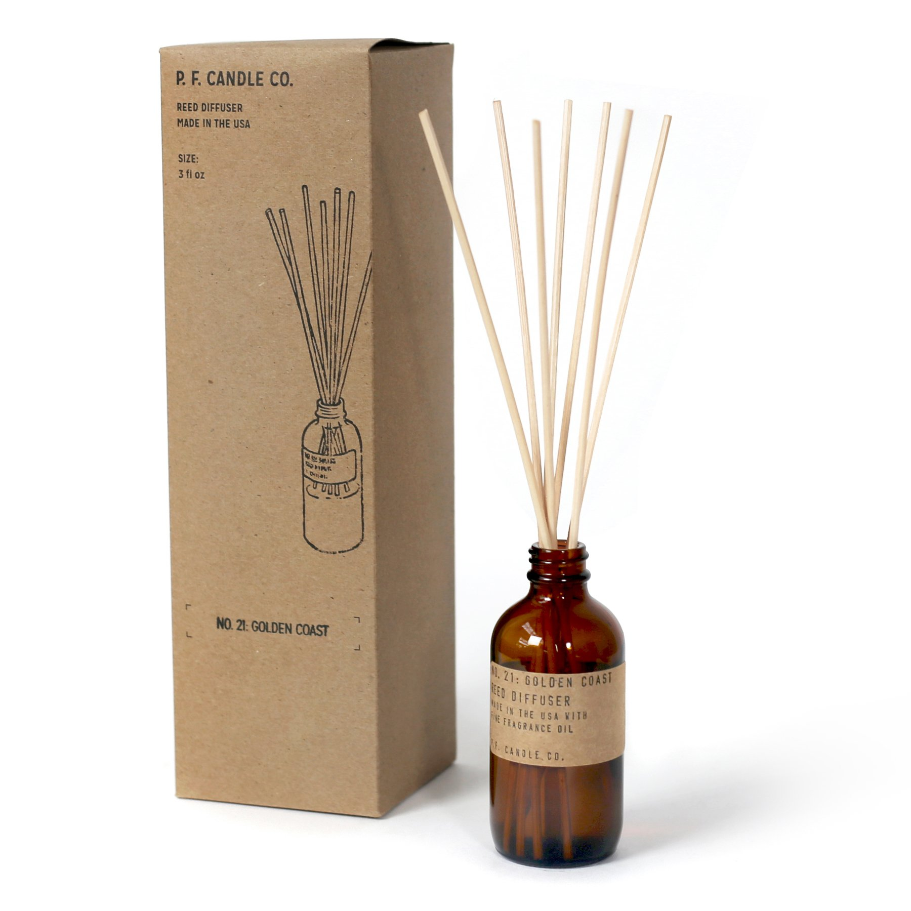 P.F. Candle Co. - No. 21: Golden Coast Diffuser by P.F. Candle Co. (Image #2)