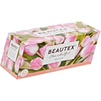 Beautex Box Tissue, 3 ply, 100ct,(Pack of 5) (1 New Version 100ct)