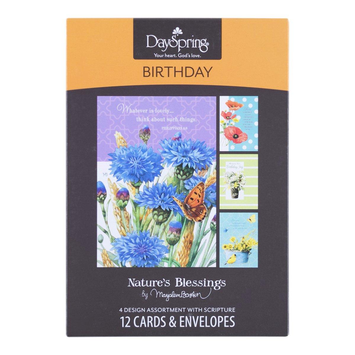 Amazon Com Birthday Inspirational Boxed Cards Marjolein Bastin