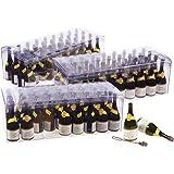 Set of 108 Bulk Bubble Wand Party Favors - Champagne Bottle Shaped Bubble Wands for Weddings, Bubble Parties, Kids…