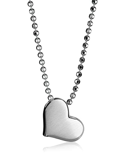 Amazon alex woo little princess sterling silver heart alex woo quotlittle princessquot sterling silver heart pendant necklace mozeypictures Images