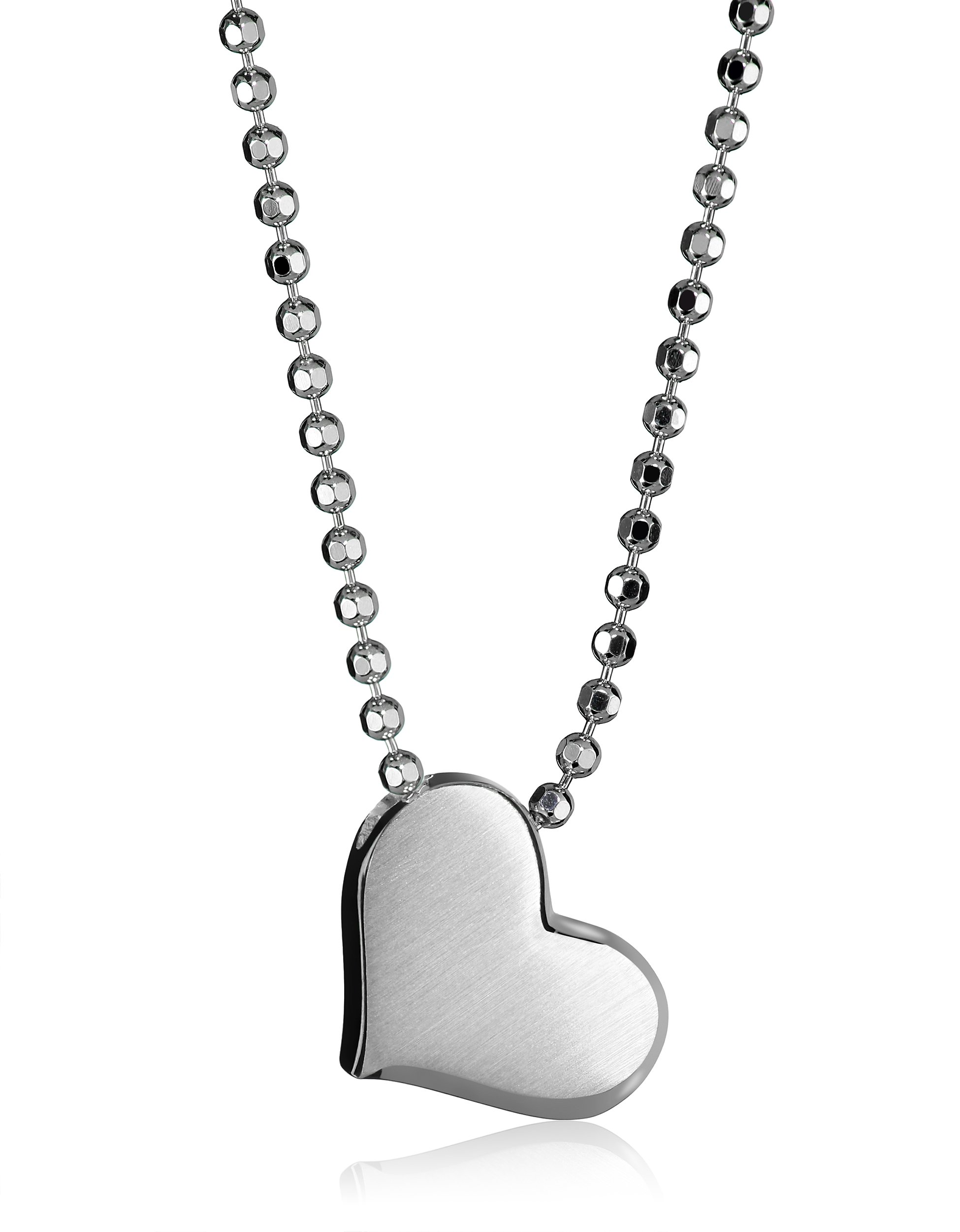 Alex Woo ''Little Princess'' Sterling Silver Heart Pendant Necklace, 16''
