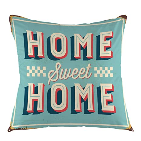 HNJZ-GS Home Sweet Home Rusty - Cartel de Chapa Vintage ...