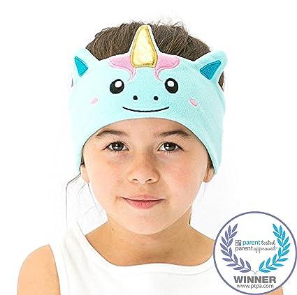 8fbed9ffc3d CozyPhones Kids Headphones Volume Limited with Ultra-Thin Speakers Soft  Fleece Headband - Perfect Children's