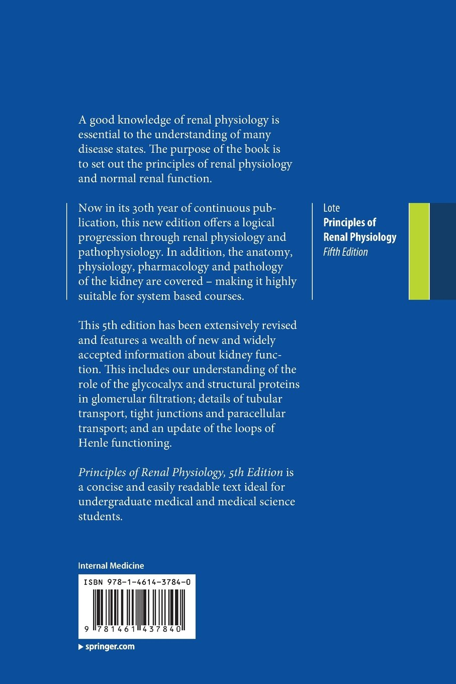Principles of Renal Physiology: Fifth Edition: Amazon.co.uk ...