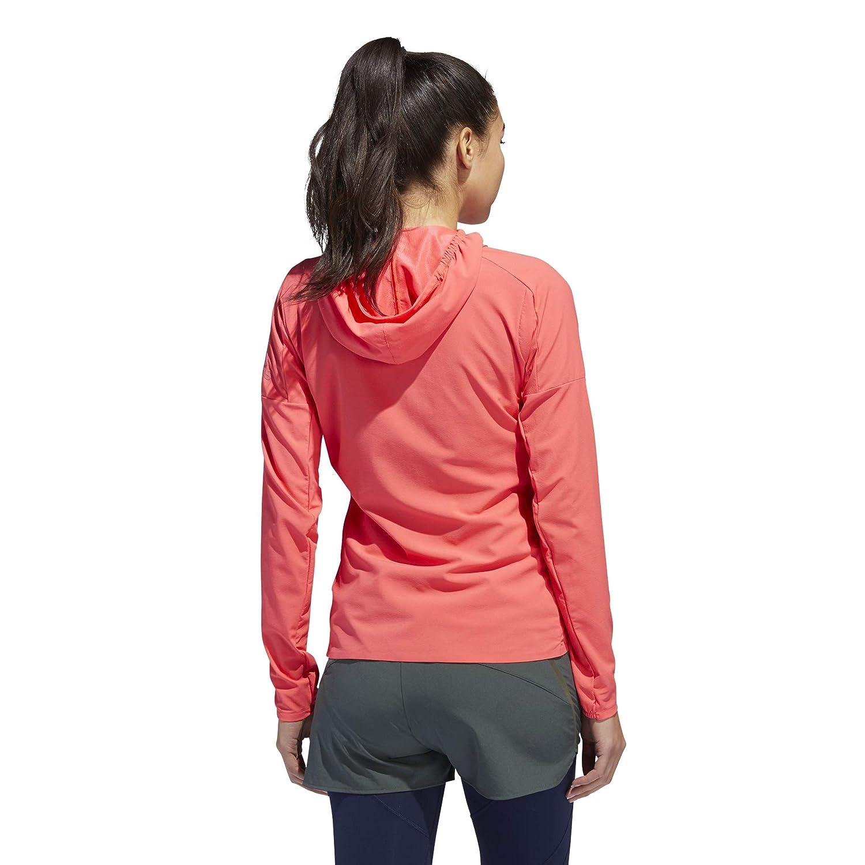 adidas Damen Z.N.E. Jacket, Shock red, XS: : Sport