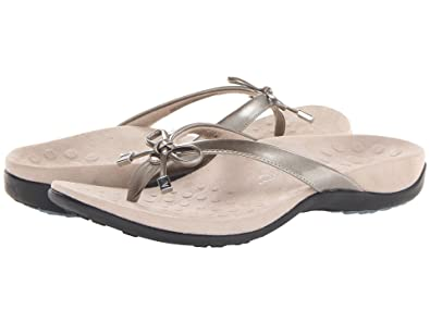 25f51b5925bb Image Unavailable. Image not available for. Color  Vionic Bella - Womens  Orthotic Thong Sandals ...