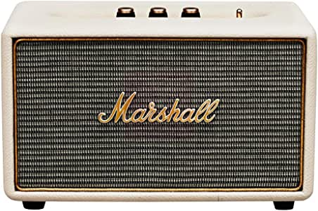 Marshall Acton Speaker with Bluetooth, Cream
