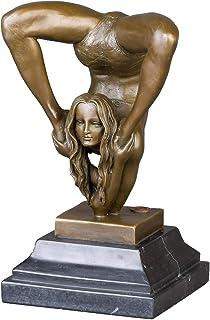 Bronzeskulptur Büste Soldat Militär Bronze Skulptur 16cm soldier sculpture