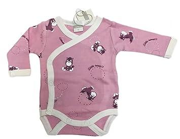 Name It Babyprem Body Willi pour et nouveau-né Rose 100% laine mérinos  Taille f3d02ca73bb