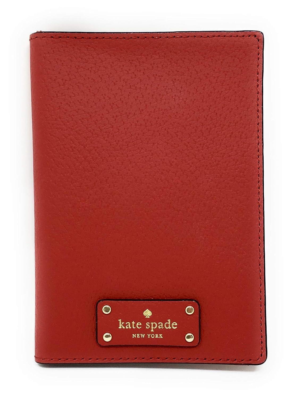 Kate Spade New York Grove Street Imogene Leather Passport Holder Wallet WLRU2813