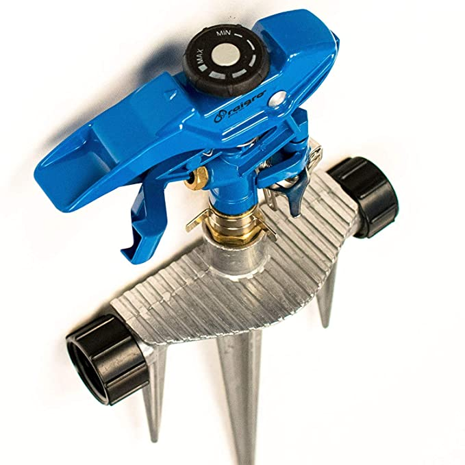 Raigro 360 Degree Pulsating Sprinkler - Best For Coverage