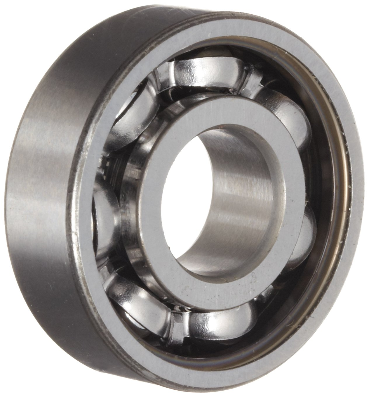 SKF 6000-Z Deep Groove Ball Bearing, Quiet Running, Single Shield, Standard Cage, Normal Clearance, 10mm Bore, 26mm OD, 8mm Width