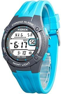 Uhren & Schmuck GüNstiger Verkauf Sportliche Herren Xonix Armbanduhr Datum Hintergrundlicht Wr100m
