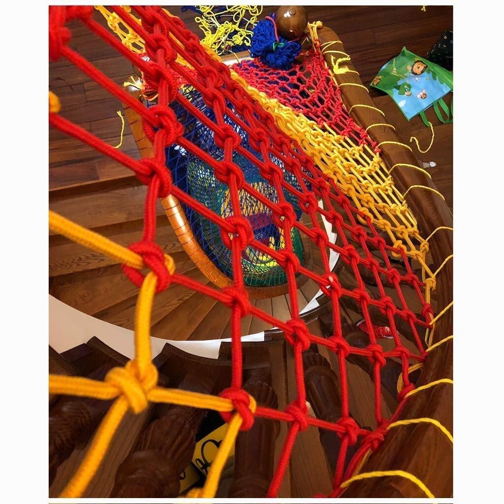 Red Contra Ca/ída Red De Escaleras Red de seguridad para ni/ños Balc/óRed de protecci/ón Red De Seguridad for Ni/ños Decoraci/ón De Red Protecci/ón Red De Cerca Guarder/ía De Color Red Balc/ón