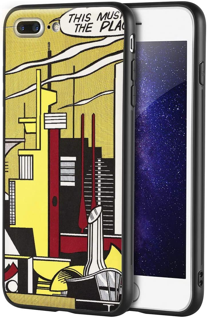 Roy Lichtenstein for iPhone 7 Plus&iPhone 8 PlusCase/ArtCellphoneCase/GicleeUVReproductionPrintonMobilePhoneCover(This Must be The Place)